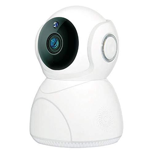 Jaimenalin CáMara de 3 Millones de PíXeles CáMara de Vigilancia HD Inteligente para el Hogar DeteccióN de Movimiento del Monitor de VisióN Nocturna InaláMbrica 1080P (Enchufe de la EU)