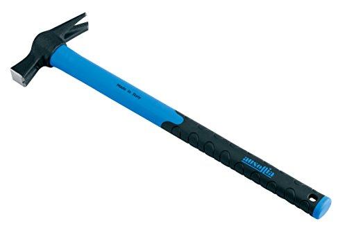 Ausonia - Martello carpentiere modello Spagna calamitato manico fibra grammi 250