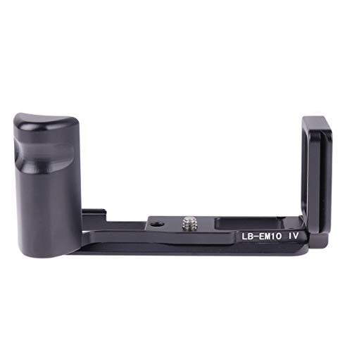 FOTGA Vertical Shoot Quick Release Plate L-Shaped Bracket Holder Hand Grip with Magnet for Olympus OM-D E-M10 Mark IV Camera Body Compatible with Arca-Swiss Standard