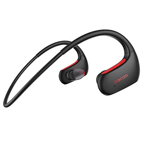 DACOM Bluetooth イヤホン スポーツ 防水 高音質 IPX7防水規格 両耳 耳掛け型 液体シリコン 装着感快適 ワ...