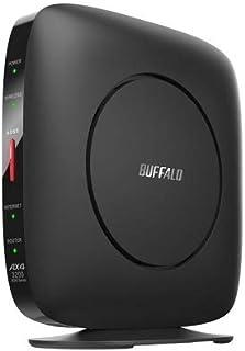 WSR-3200AX4S/DBK [Wi-Fi 6 無線LANルーター 11ax/ac/n/a/g/b 2401+800Mbps Ipv6対応]