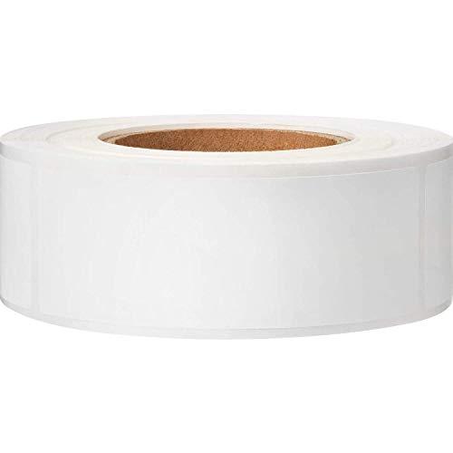 Katigan Etiquetas ExtraíBles del Congelador 1 X 3 Pulgadas Etiquetas Engomadas de Almacenamiento de Alimentos Etiquetas de Papel del Congelador del Refrigerador (Blanco en Blanco)