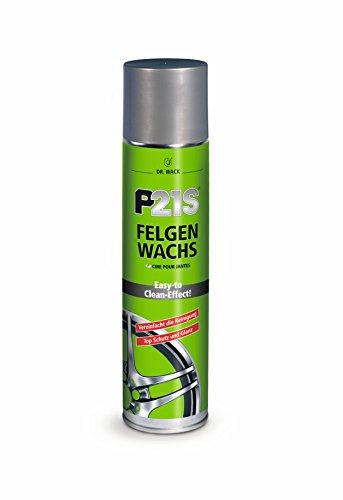 Dr. Wack – P21S Felgen-Wachs 400 ml I Premium Felgen-Versiegelung für alle Felgen I Verhindert ein Festsetzen des Schmutzes I Hochwertige Felgenpflege – Made in Germany