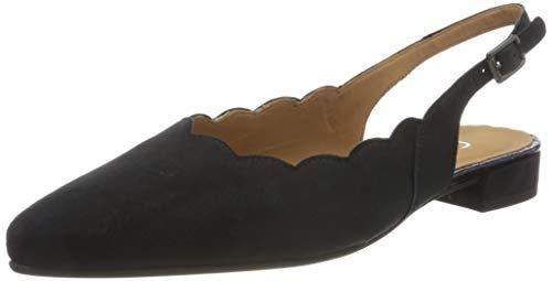 Gabor Shoes Damen Comfort Fashion Pumps, Blau (Pazifik(Snakelame) 45), 41 EU