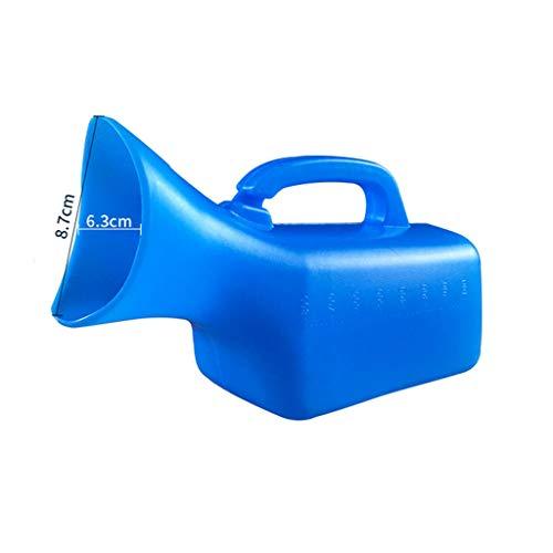 LPing Bouteille portative d'urinoir des Femmes masculines,Pot urinaire Unisexe urinoir Unisexe 1000ML avec Couvercle,pour hôpital,Voyage en Voiture,Camping en Plein air,embouteillage