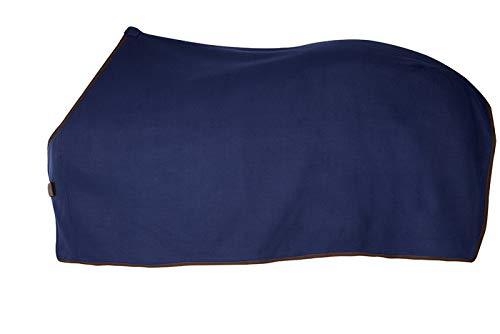 PFIFF 002037 Paarden fleecedeken, fleece paardendeken deken, 3 kleuren 125-155, 125 cm, blauw