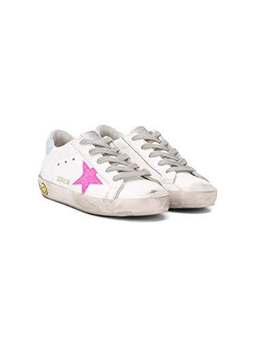 Golden Goose Luxury Fashion Ragazza G36KS001B46 Bianco Pelle Sneakers | Primavera-Estate 20