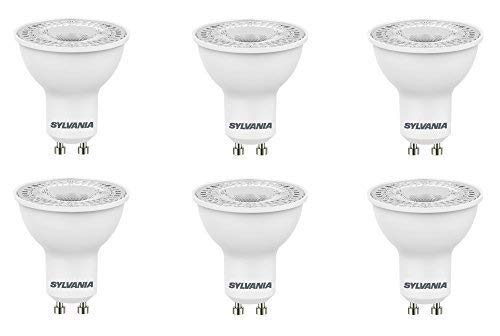 6X Sylvania RefLED ES50 V4 5W GU10 LED Non-dimmable Light Bulb lamp 830...