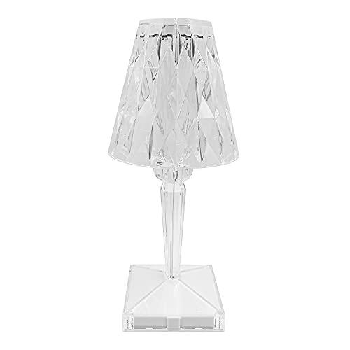 Toque Control Crystal Table Sky Lámpara Noche Luz de noche Luz de noche con la noche de la noche con la lámpara de la noche de la noche de la carga del USB para la sala de estar de la sala de estar de