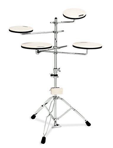 Drum Workshop Go Anywhere 5-Piece Practice Pad Set with Stand Accessory Pack (DWCPPADTS5)