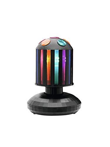 Eurolite LED MSC-10 mini enkel cylinder | enkel ljuseffekt med roterande cylinder inkl. E-14 LED-ljuskälla