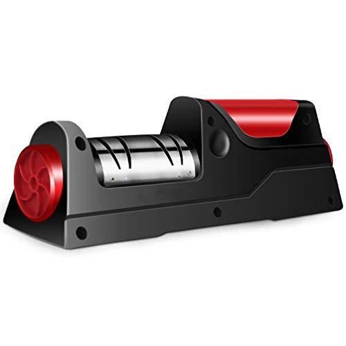 HZJ Messerschärfer Elektrisch, Elektrische Messerschärfer Küche Doppel Dicke/USB-Lade- / Sekunde Geschwindigkeit Für Alle Arten Von Küchenmesser,B