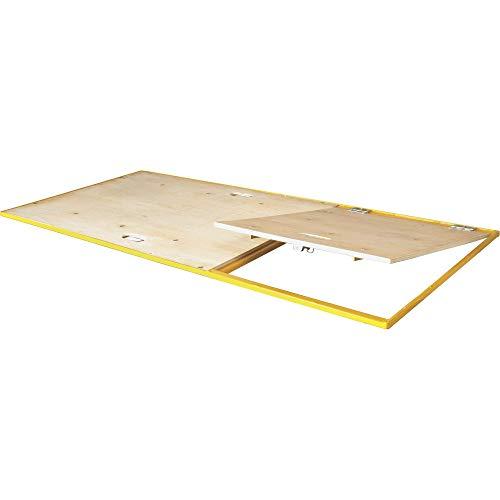 Metaltech Scaffolding Platform with Trap Door - 67in.W x 29in.D, Model Number I-CISPT
