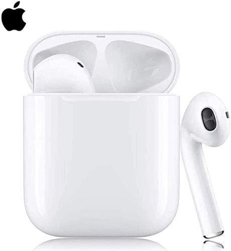 Auricolare Bluetooth5.0,3D Stereo Cuffie Auricolare Senza Fili con HD Mic,Tocco Auricolare Bluetooth 24H Playtime con Scatola di Ricarica,Cuffie in-Ear per Airpods/Andriod/iPhone/Samsung