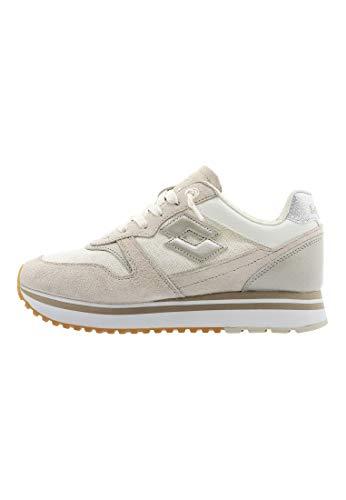 scarpe lotto japan donna Lotto 211170 Sneakers con Lacci in Tessuto E CAMOSCIO da Donna