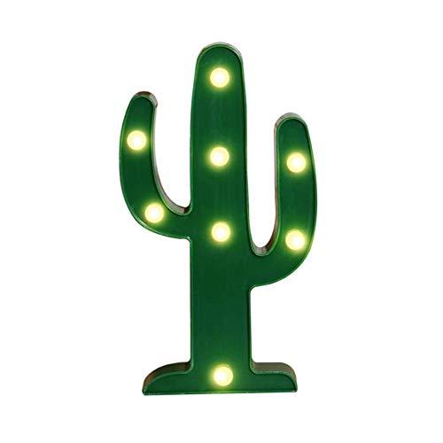 AOK DOOR Veilleuse LED Enfant Veilleuse De Nuit Bebe Accueil Décoration Lumières pour Mur Veilleuses pour Enfants Lampes pour La Maison Décoration Cactus