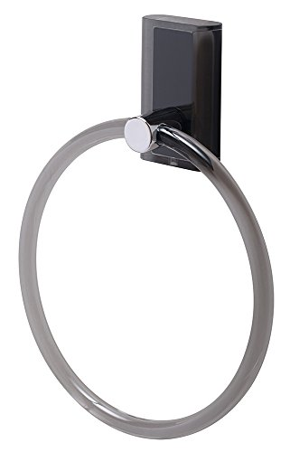 eliplast handdoek ring, zwart, 30 x 30 x 30 cm