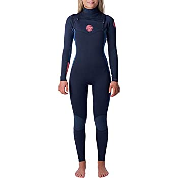 Rip Curl Dawn Patrol Wetsuit   Women's Neoprene Full Suit Chest Zip Wetsuit for Surfing Watersports Swimming Snorkeling   Designed for Durability   4/3mm