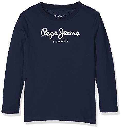 Pepe Jeans Jungen T-Shirt Pepe Jeans, Blau (Navy 595), 13-14 Jahre (Herstellergröße: 14)