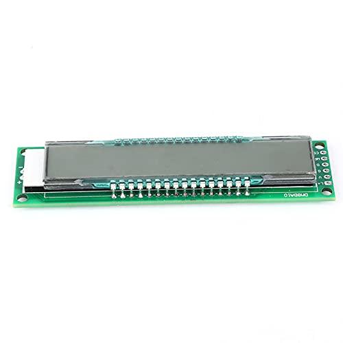 Módulo LED Luz de fondo azul Tablero de pantalla LCD DM8BA10 para Electronic Hobby Diy para Mega2560 Leonardo Micro Nano Adapter Pro Mini Zero Due(Needleless)