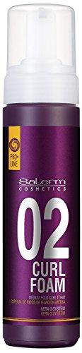 Salerm Cosmetics Curl Foam 02 Espuma Ligera de Fijación - 200 ml