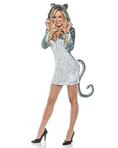 Horror-Shop Wolfskostüm für Damen | S-XL S