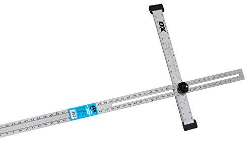 OX Tools 48'' Adjustable Drywall Aluminum T Square