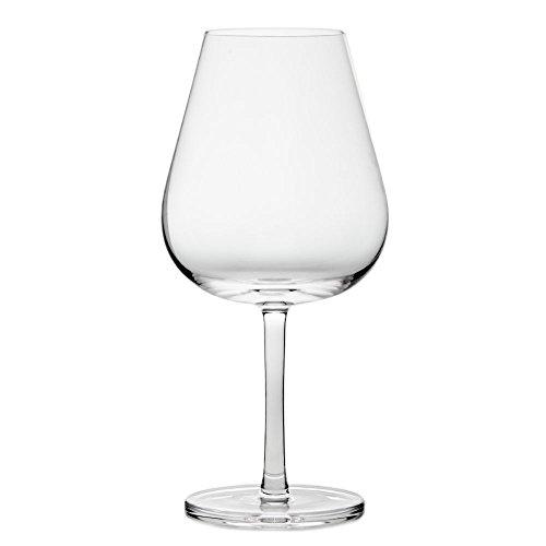 Cristal de Sèvres Horizon Set de Verres à vin Bourgogne, Verre, 9 x 9 x 20 cm, Lot de 2