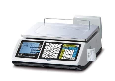 Balance Poid Prix avec ticket CAS modèle CT100-30B 15/30kg e=5/10g min=100g