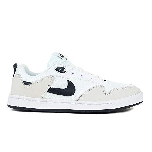 Nike SB ALLEYOOP CJ0882-100 - Zapatillas de skate para hombre, color blanco, color, talla 44.5/10.5