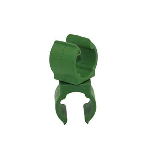 ZWW 10 Pcs Usine Support en Plastique piliers Fastener Jardinage Fixe Pince réglable à 360 degrés de Rotation Clip Connecteur (Taille : Inner Diameter 16mm)