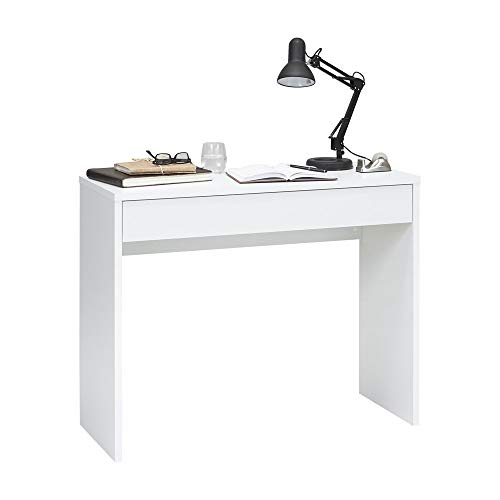 FMD Möbel 362-001 - Console Checker, 100 x 80 x 40 cm, bianco