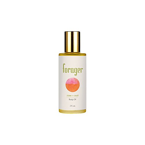 Forager Botanicals Rose + Oud All Natural Body Oil