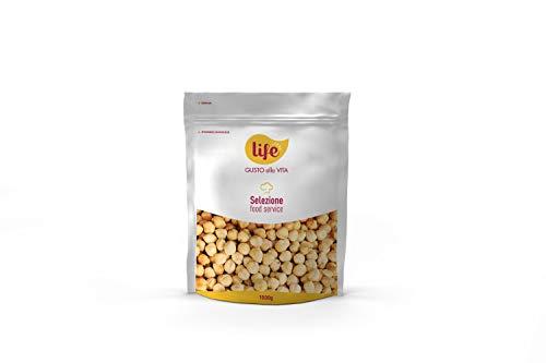 Life Nocciole Tostate Sgusciate Intere Fonte di Fosforo, Magnesio e Potassio, Frutta Secca, Snack Frutta Secca Ideale per la Tua Pausa Salutare, 1 kg