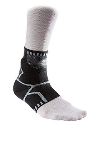 Mc David 5142Sprunggelenkbandage Rehabilitation, Unisex-Erwachsene M schwarz/grau