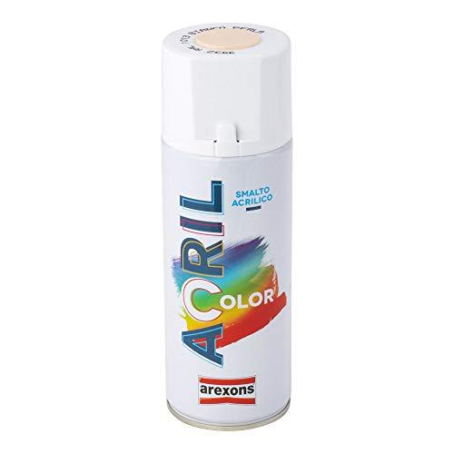 Arexons RXS006 3932 Acrilcolor RAL 1013, Bianco Perla, 400 ml