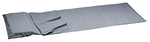 Camp – vierkante microvezel slaapzak 210 g – marineblauw/nachtblauw – één maat