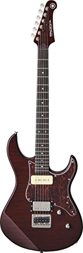 Yamaha Pacifica PAC611HFM RB Solid-Body Electric Guitar, Root beer
