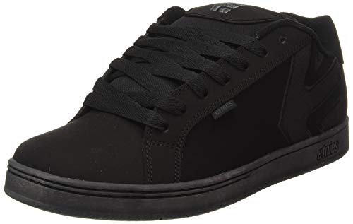 Etnies Mens Fader LS Shoes Footwear,Black Dirty Wash,10.5