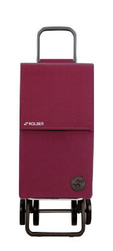 ROLSER Einkaufsroller DOS+2 / PARIS / PAR005 / bordeaux / 39 x 31 x 105 cm / 44 Liter / 40 kg Tragkraft