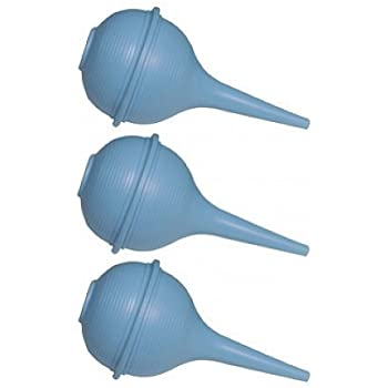 Medline 2 oz Sterile Bulb Ear Syringe - 3 Pack