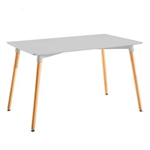 Mesa de Jantar Retangular Eames Branca 120 cm