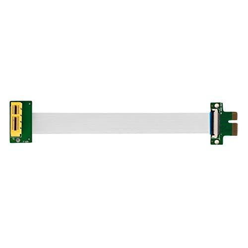 Profesional PCI-E Express 1X Riser Extension Single Slot Cable Compacto de Alta...