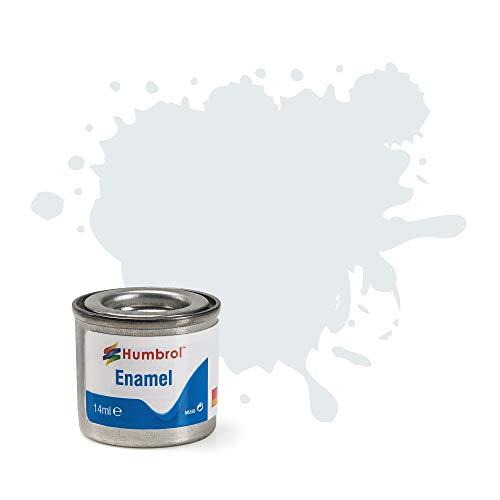 Humbrol 14 ml Nr. 1 Tinlet Emaillelack 191 (Chrom Silber Metallic)