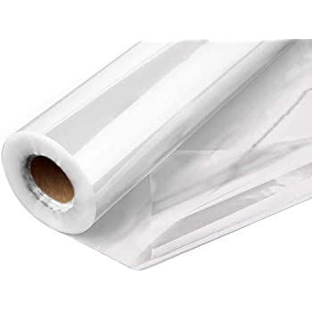 20 x 12-1//2 Pacon  Cellophane Wrap Clear 1 Roll