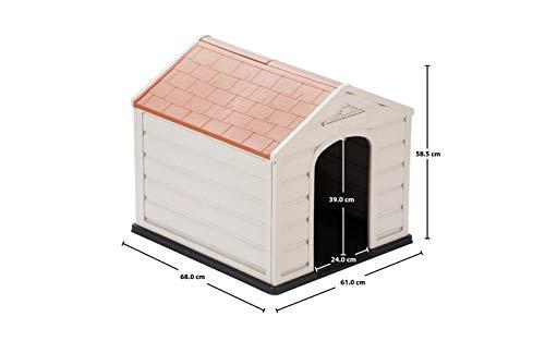 Caseta De Perro Casa  marca Small Breed Dog House