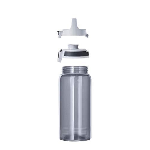 Outdoor Sportflasche aus Sport-Wasser-Cup Erwachsener Leakproof Tragbarer große Kapazitäts Outdoor Fitness Sport-Wasserflasche Raum Cup Männer und Frauen-Cup Studenten Kunststoff-Wasser-Cup Handy-Cup-