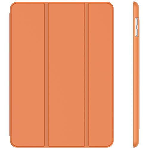 JETech Case for iPad (9.7-Inch, 2018/2017 Model, 6th/5th Generation), Smart Cover Auto Wake/Sleep, Papaya