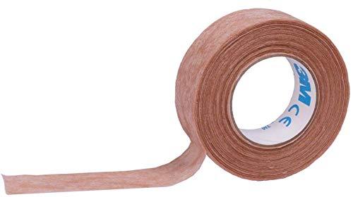 Sgualie 3M Micropore Tape, hypoallergen, Hellbraun, 1,25 cm x 9,1 m, Packung mit 1 Stück
