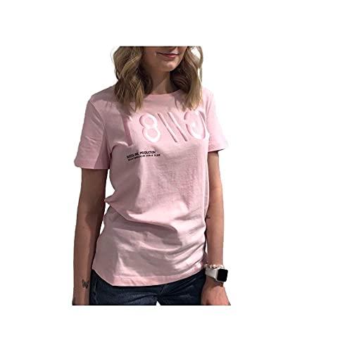 Guess Camiseta Mujer Manga Corta Rosa Cuello Redondo W1RI0BI3Z00-G600 XS